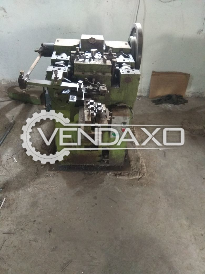 Used Wire Nail Making Machine | Second Hand Other Metal Processing ...