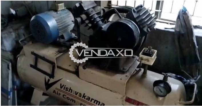 Vishwakarma Rotary Screw Air Compressor - 5 HP