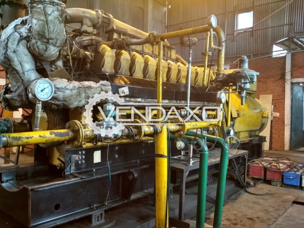 Caterpillar 3520 Gas Power Genset 1950 Kw
