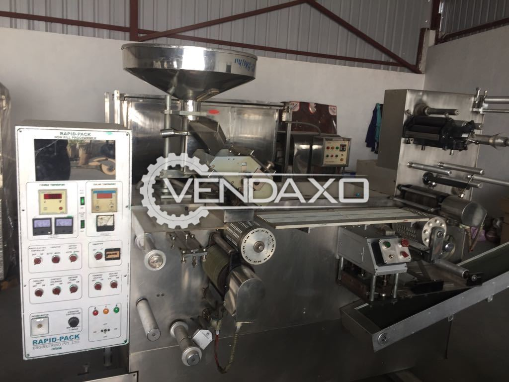 Rapidpack Double Track Blister Packing Machine