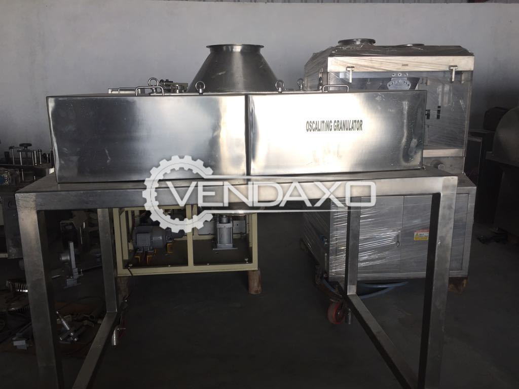 Oscaliting Granulator Double Beam