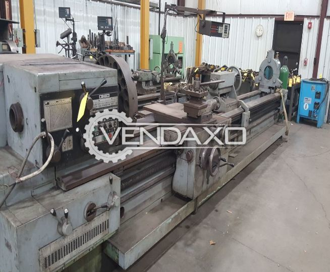 TOS Vertical Turret Lathe Machine