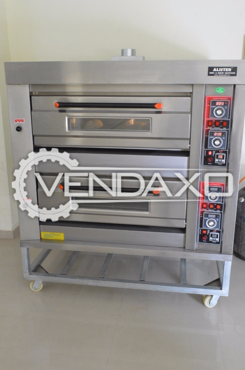 2 Deck Commercial Microwave Oven