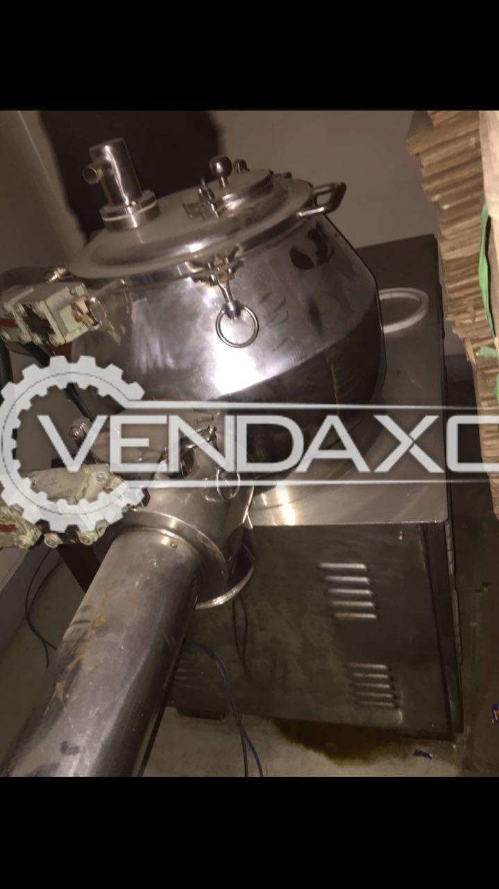 Rapid Mixing Granulator (RMG) - 60 KG