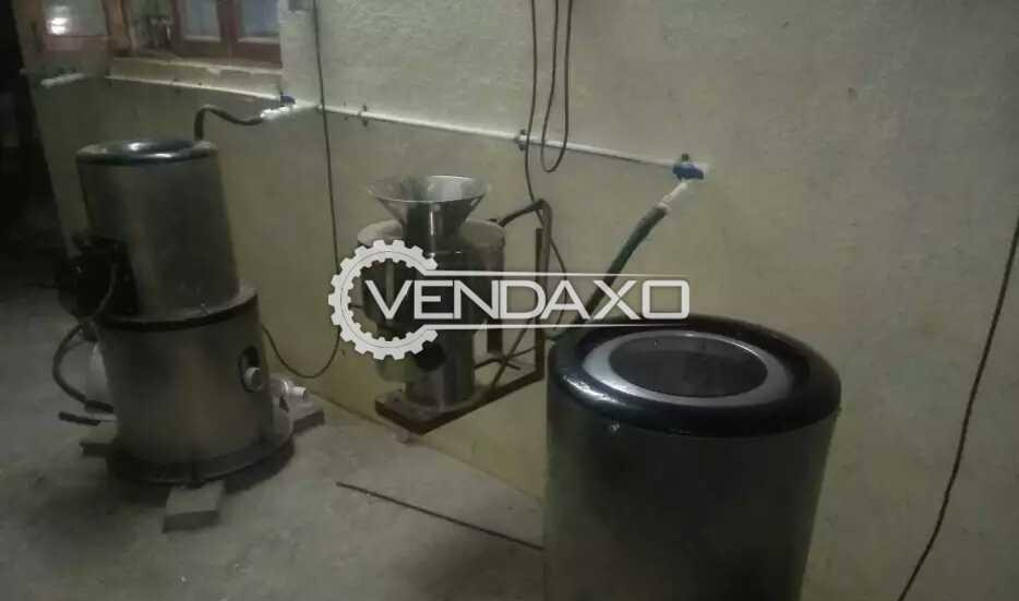 Potato Wafers Machinery Plant