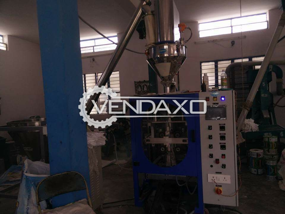 Food Processing Plant Included Pouch Packaging Machine, Hammer type Pulverizer, Flour Shifter, Flour Blender