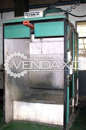 Liquid WW-15 Paint Booth Machine