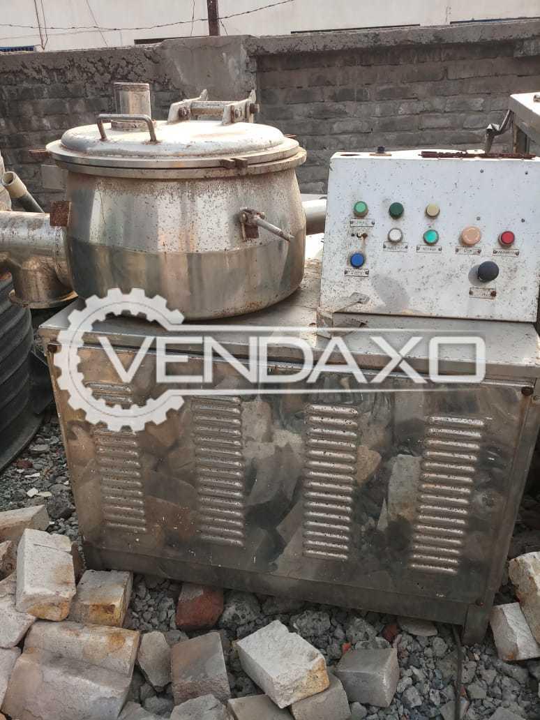 Rapid Mixing Granulation (RMG) - 100 KG