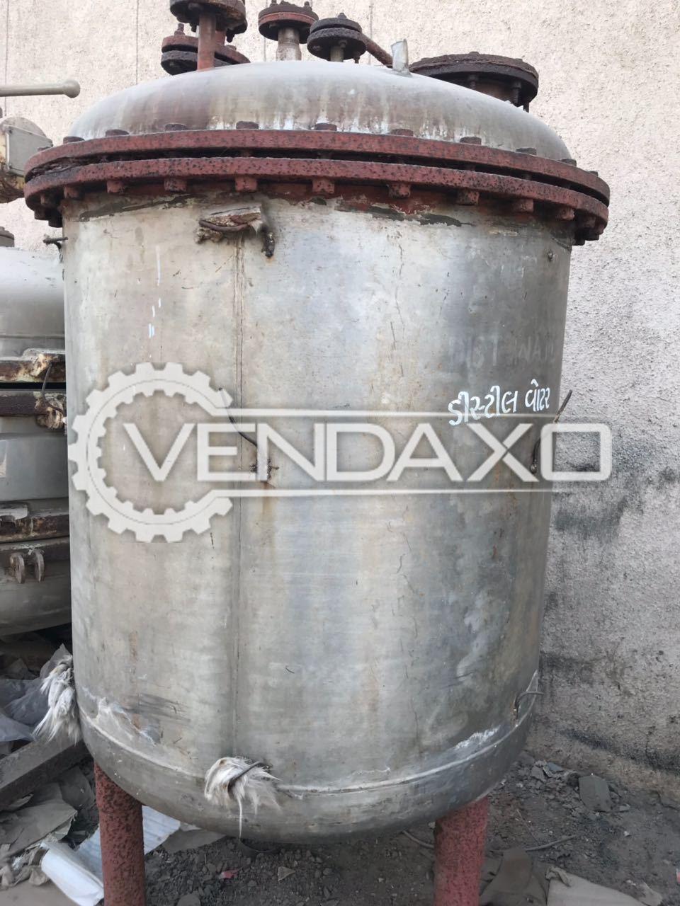 SS 316 Storage Tank - 1000 LIter