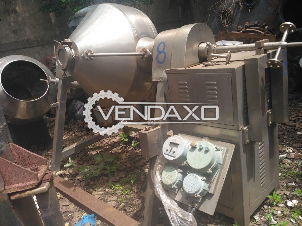 Roto Cone Vacuum Dryer (RCVD) - 400 LIter