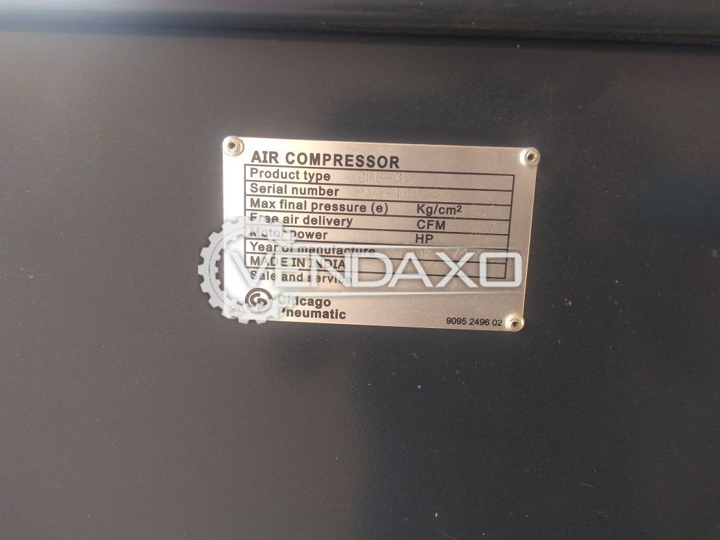 Air Compressor - 30 HP