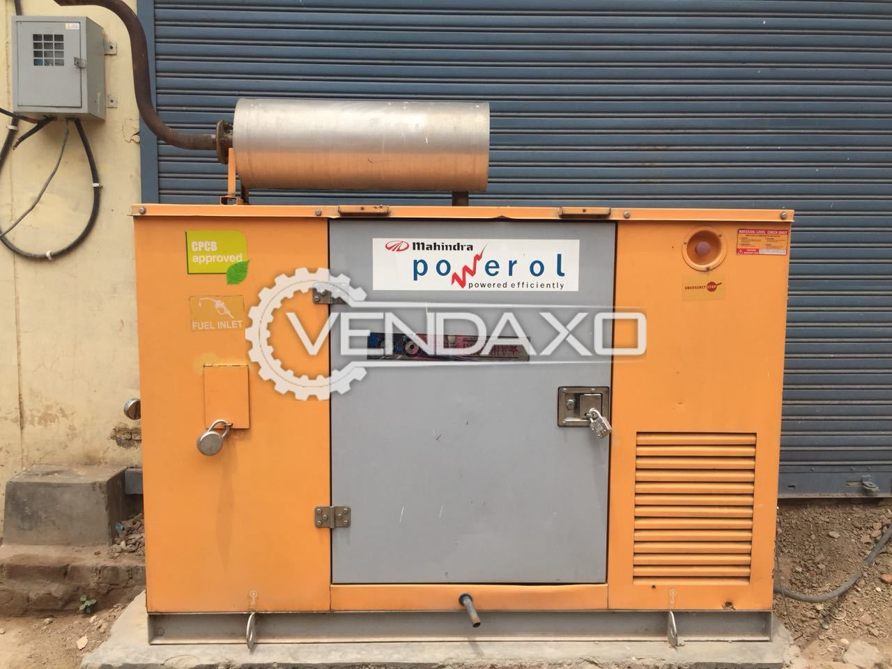 Used Mahindra Diesel Generator - 15 KW for Sale at Best