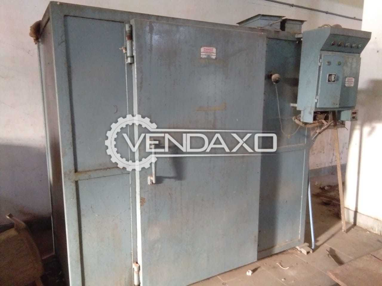Electric Tray Dryer - 48 Tray