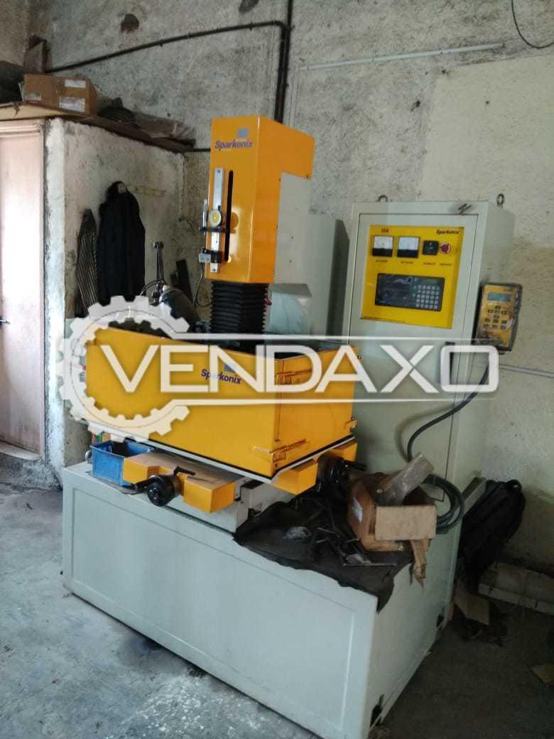 Sparkonix Electro Discharge Machine (EDM)
