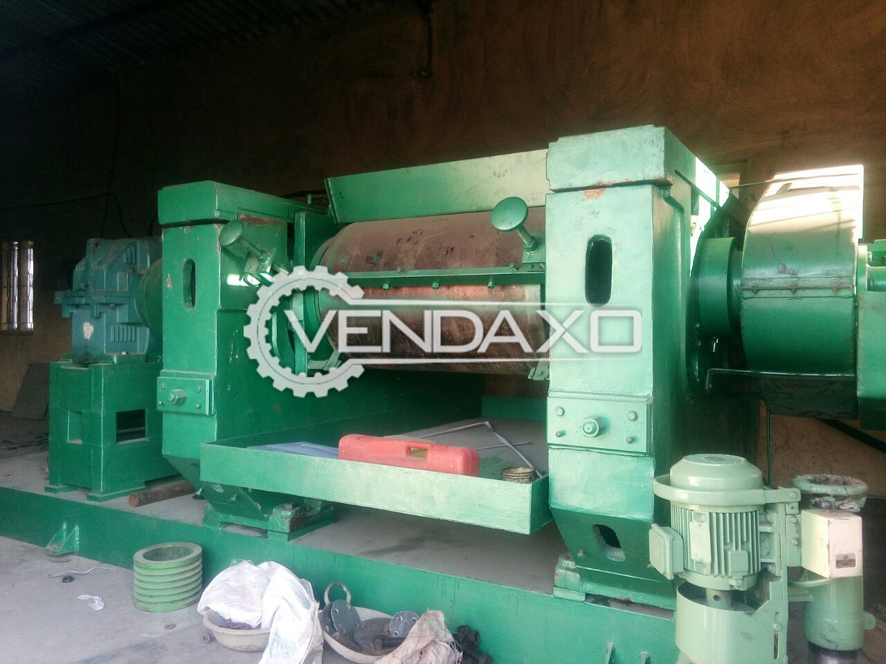 REFINER Mixing Mill Machine