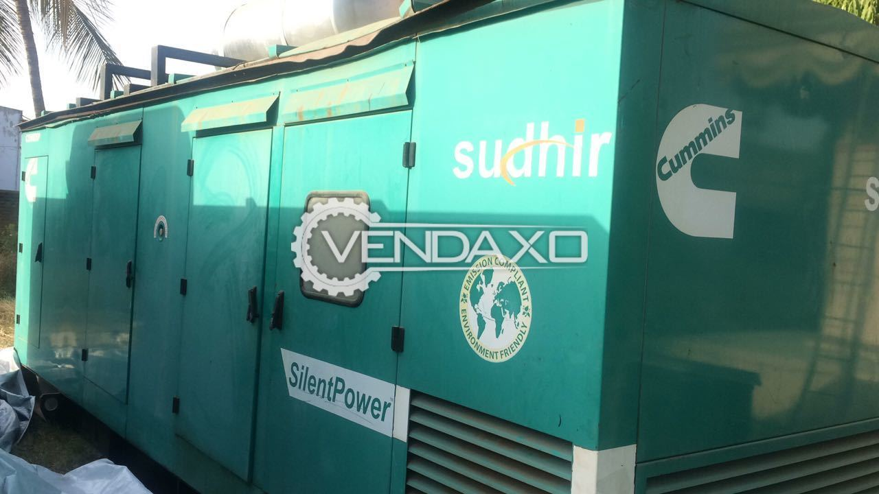 CUMMINS Diesel Generator - 500 KVA