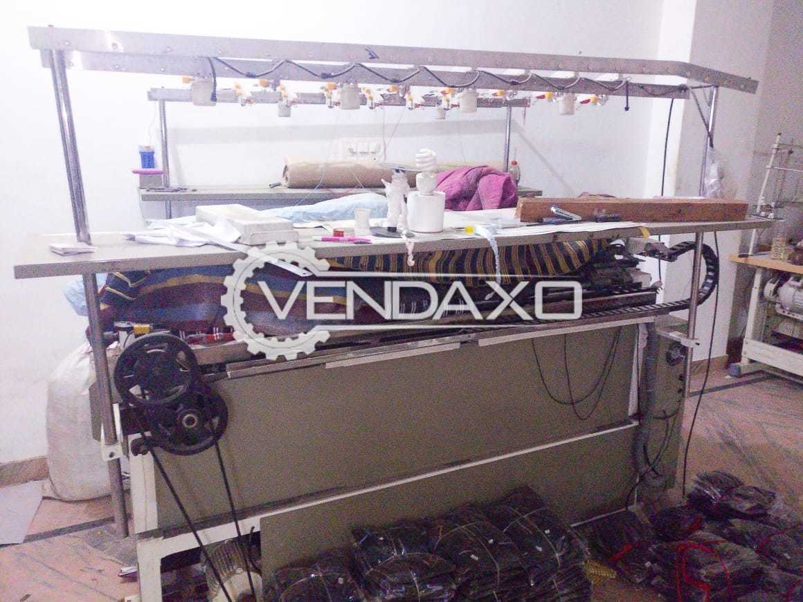Fully Automatic Flat Knitting Machine