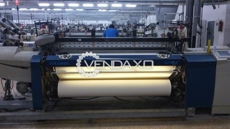 Picanol GAMMA Rapier Loom Machine - 220 CM , 8 Color