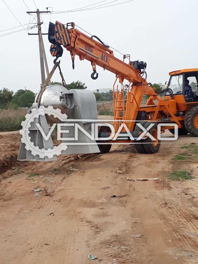Double Cone Blender Machine - 500 Liter