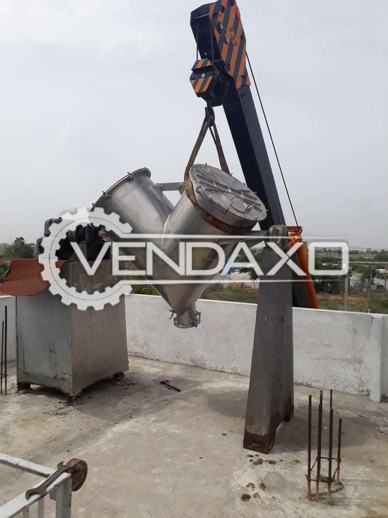 V Type Blender Machine - 300 LIter