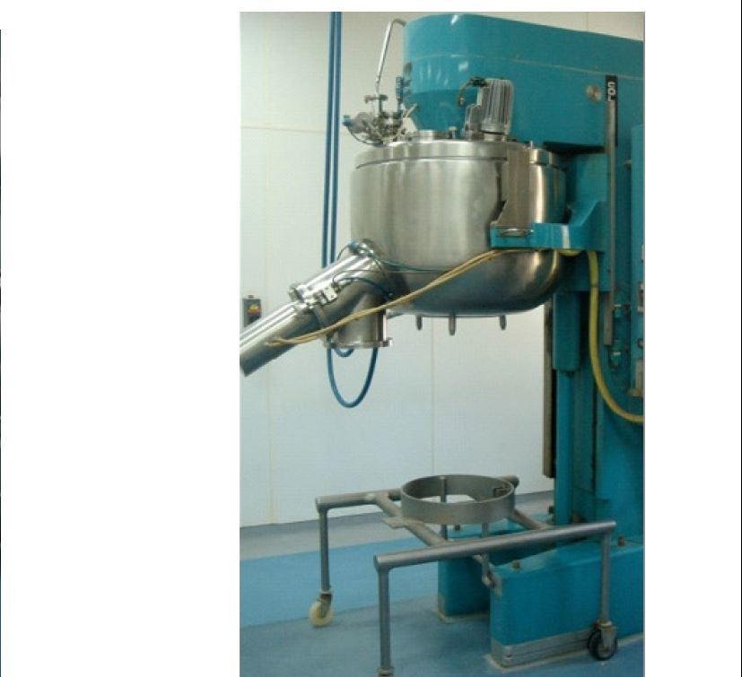 Granulator mixer 300 2
