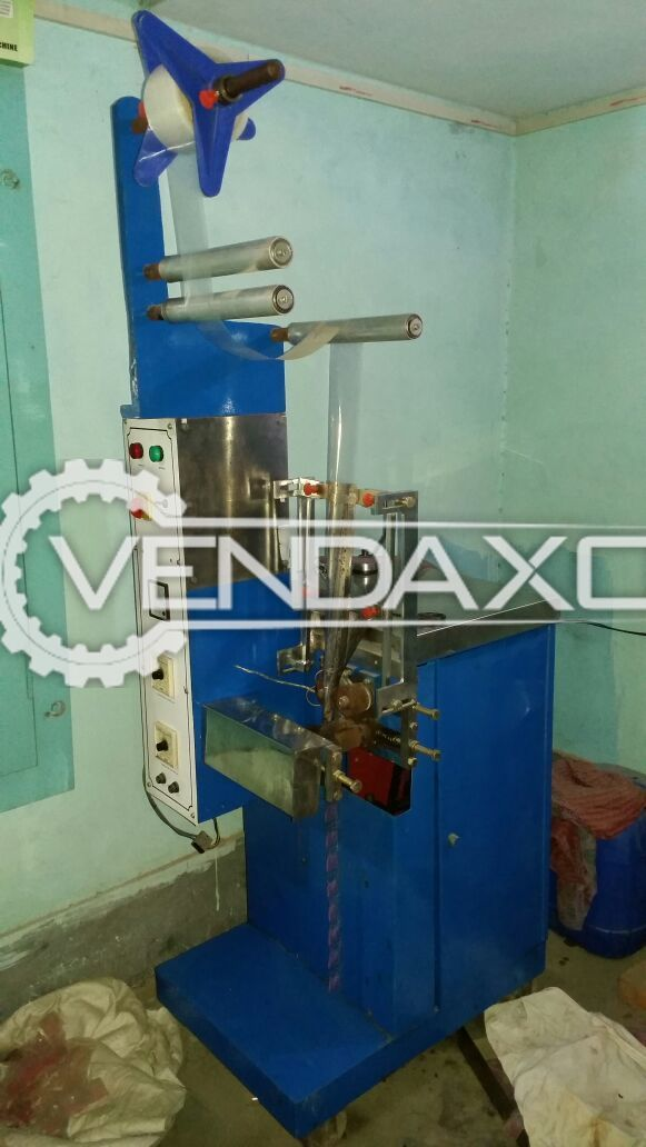Automatic Pouch Filling Machine - 1 ML to 50 ML