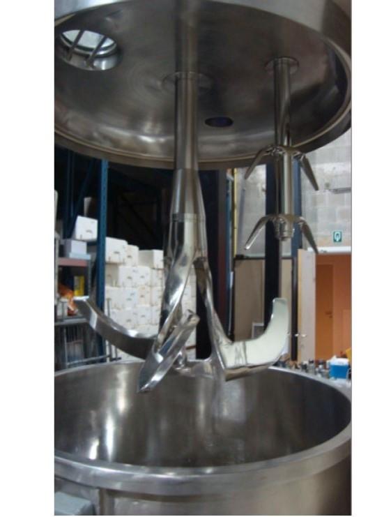 Granulator mixer 150 2