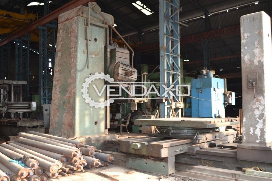 Droop & Rein Horizontal Boring Mill - 160 MM
