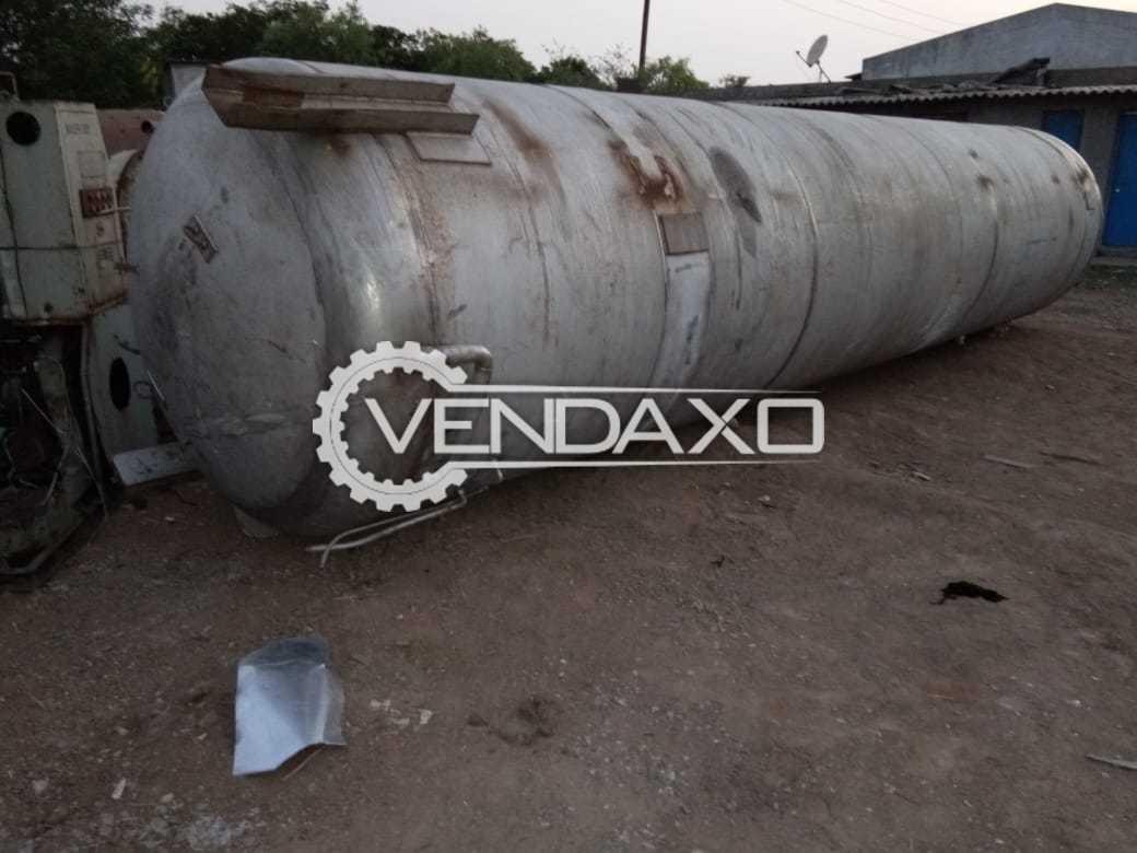 SS 304 Storage Tank - 15 KL , 2900 KG