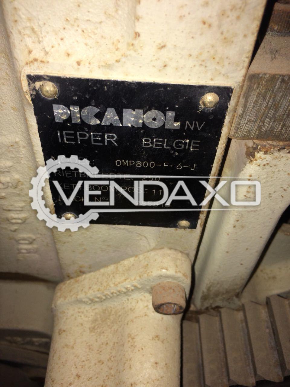 Picanol Omni Plus 800 Rapier Loom Machine - 250 CM With Jaquard