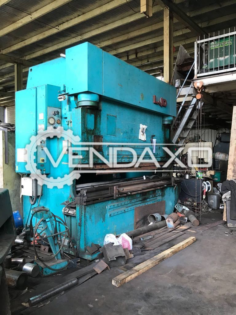 Used LVD Hydraulic Press Brake Machine - 3500 mm x 220 Ton