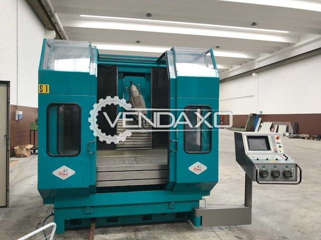 OMV BFC 800 Bed Type Milling Machine