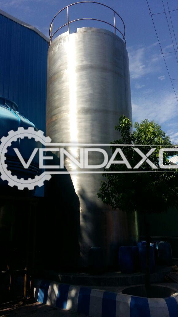 Vertical Milk Silos Storage Tank - 30 KL