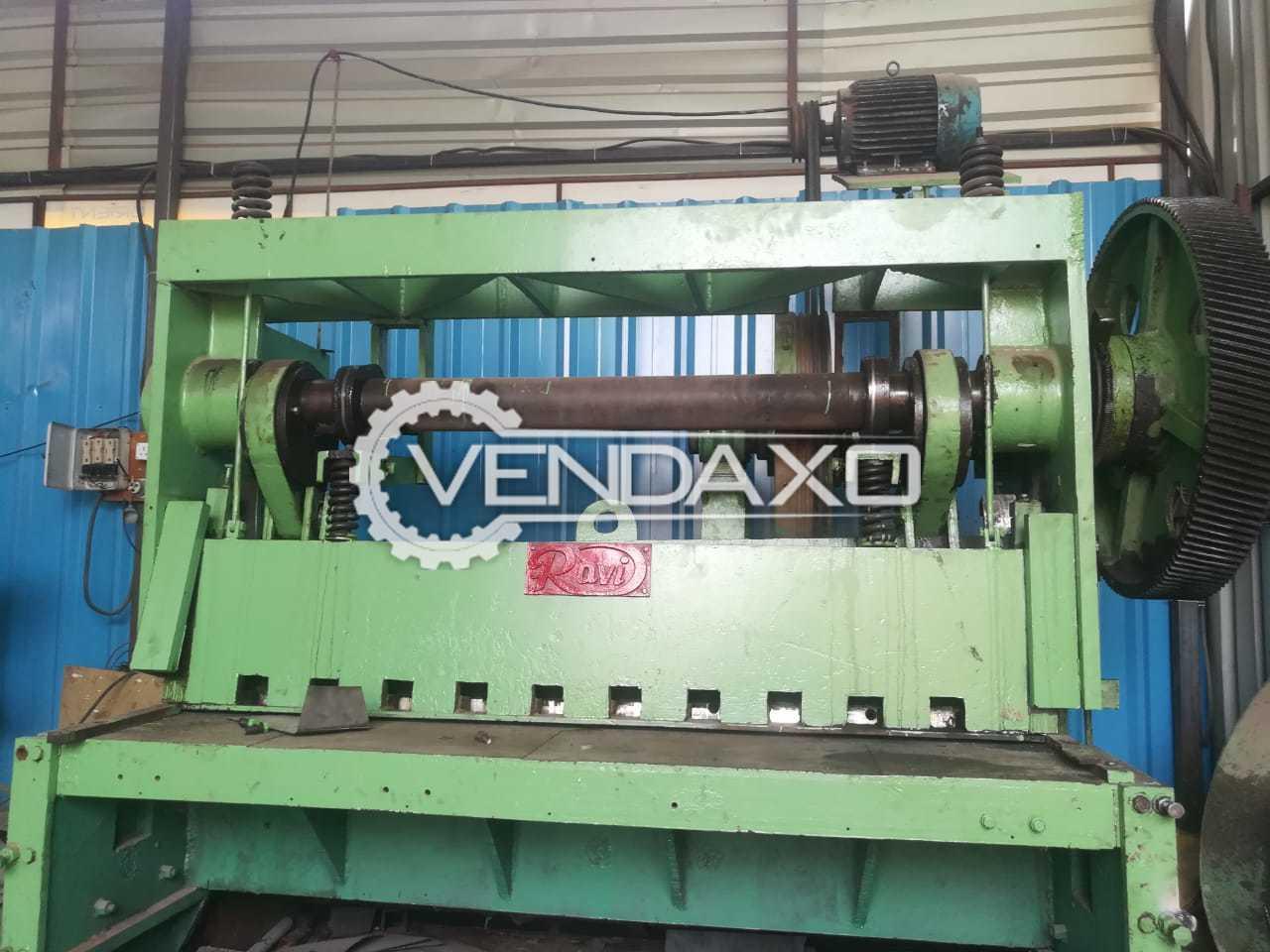 Ravi Shearing Machine - 8 MM