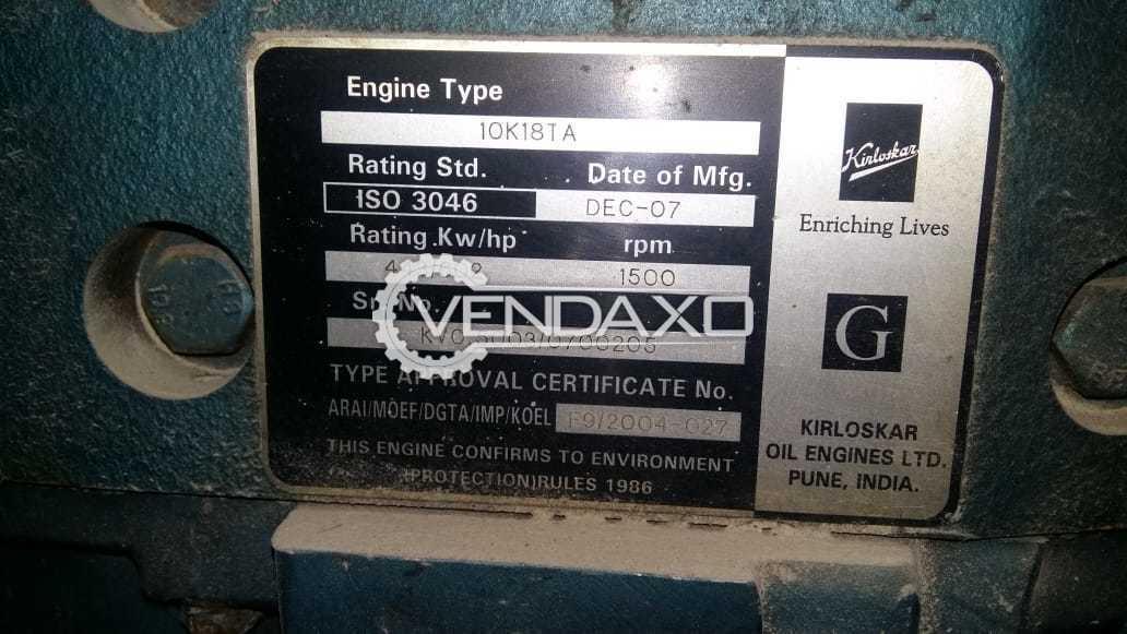 Kirloskar Diesel Generator - 500 Kva