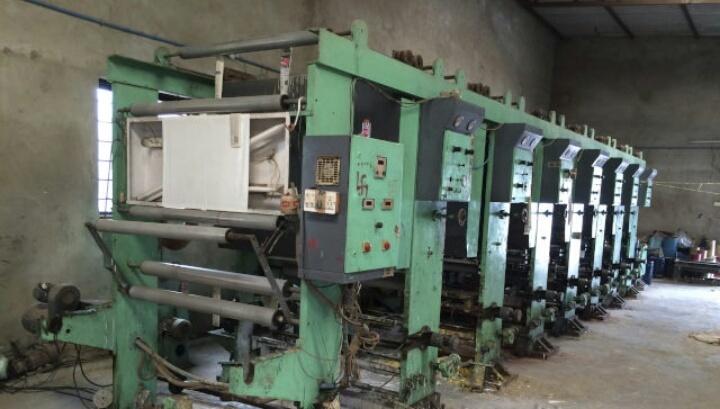Rotogravure printing machine 1