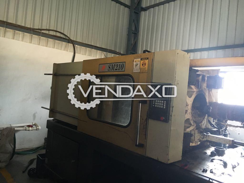 Super Master- 210 T Plastic Moulding Machine