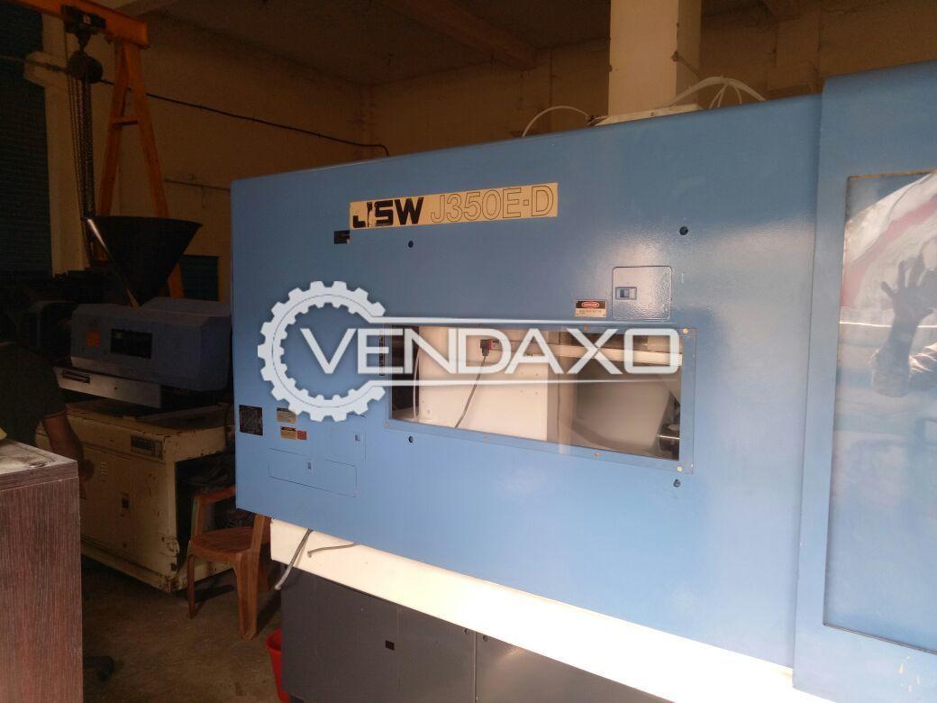 JSW J350 E-D Injection Moulding Machine - 350 Ton