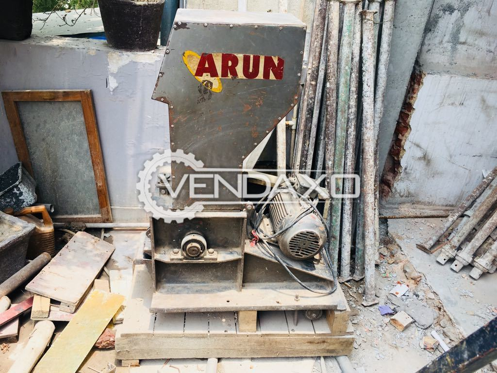 Used Arun Plastic Scrap Grinder for Sale at Best Prices