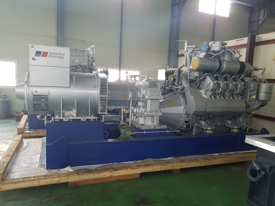4400KW Steam turbine/920KW Gas Geneset x2(60HZ)