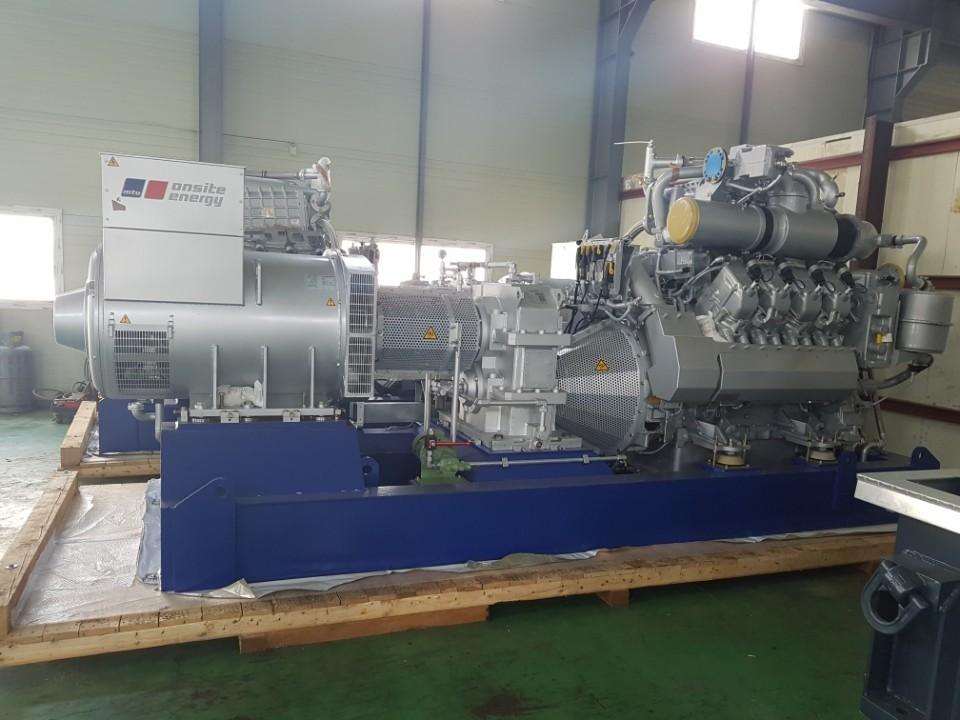 4400KW Steam turbine/920KW Gas Geneset x2(60HZ)