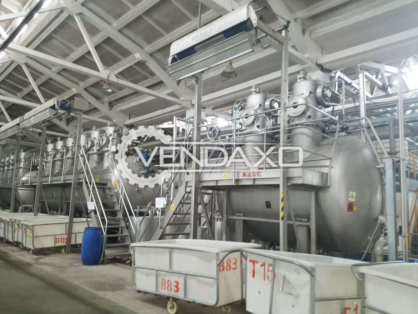 Taida Overflow Dyeing Machine - 500 KG