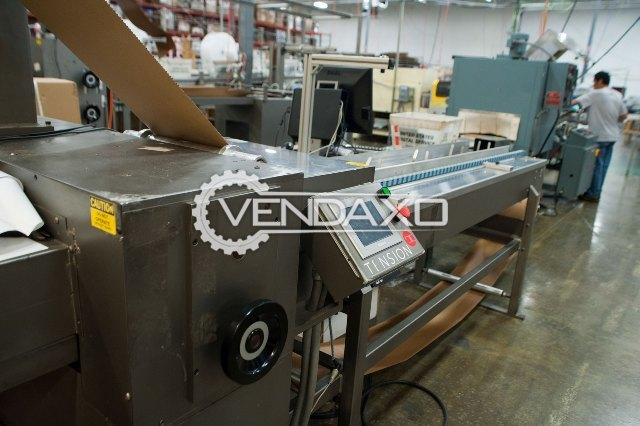 Tension System Packaging SP-600-18-3D, Cold Seal Packaging Machine