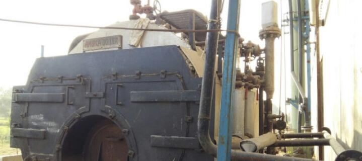 Steam boiler 3