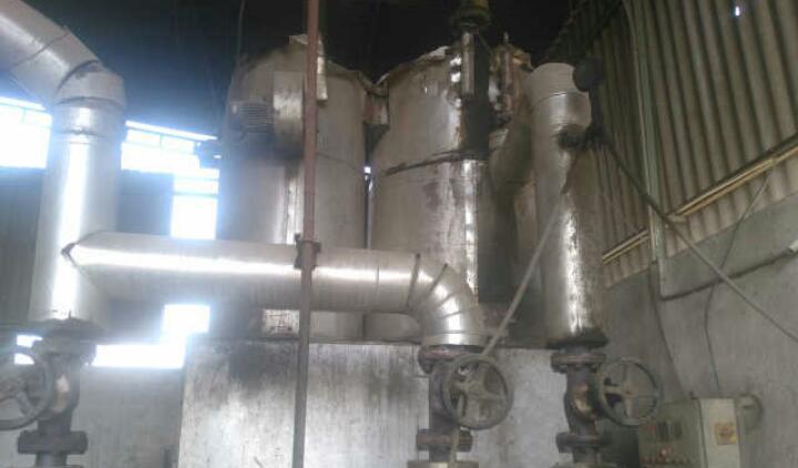 Wood fire fluid heater 2