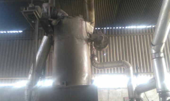 Wood fire fluid heater 3