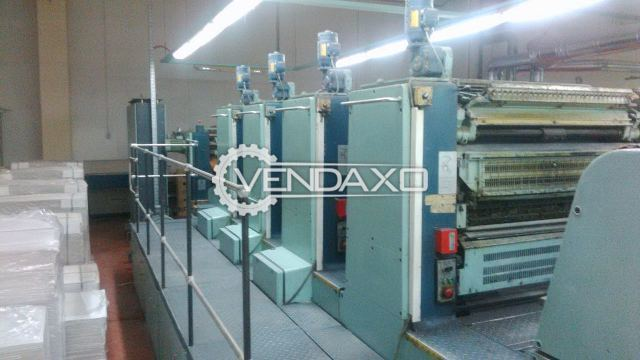Planeta P-44 Super Variant Offset Printing Machine - 4 Color