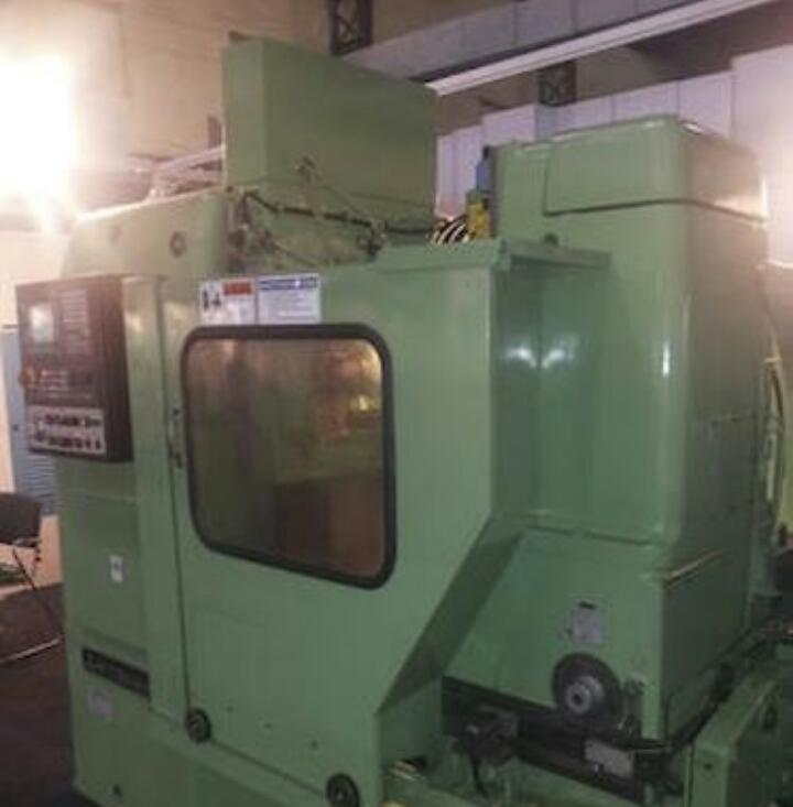 Cnc gear hobbing machine 4