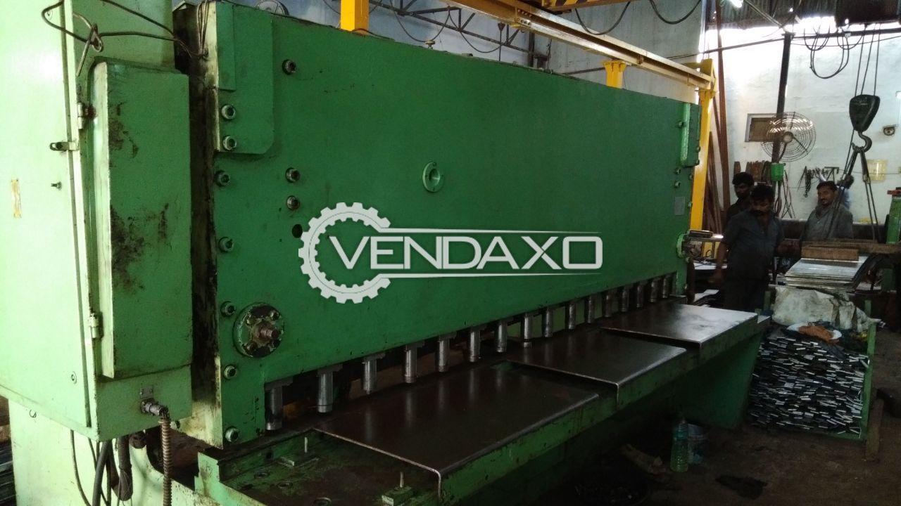 Hydraulic Shearing Machine - 18 MM