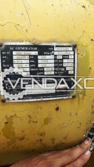 Caterpillar AC Generator - 600 KVA